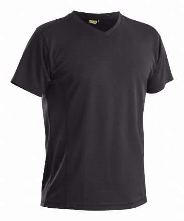 CLEARANCE  Blaklader 3323 Pique UV Protection T Shirt (Black) MEDIUM
